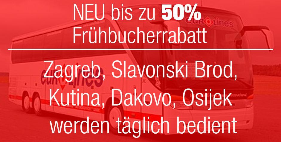 50% Frühbucherrabatt